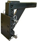 "PMA5 - 5"" adjustable pintle mount plate for 2"" receivers - 4 position"