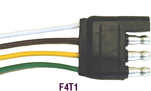 f4t1lrg c r brophy machine works, inc electrical connectors, adapters 4 way flat to 7 way round adapter wiring diagram at gsmportal.co